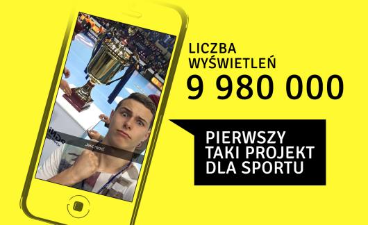 Rekordowy PGNiG Puchar Polski na Snapchacie