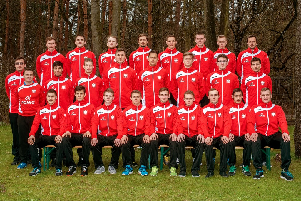 Polish M20 national team photo for EC in Denmark 2016