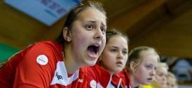 Juniorki młodsze drugie w Pradze