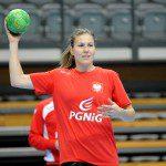 Trening Reprezentacji Kobiet przd turniejem w Zielonej Gorze - trening poranny