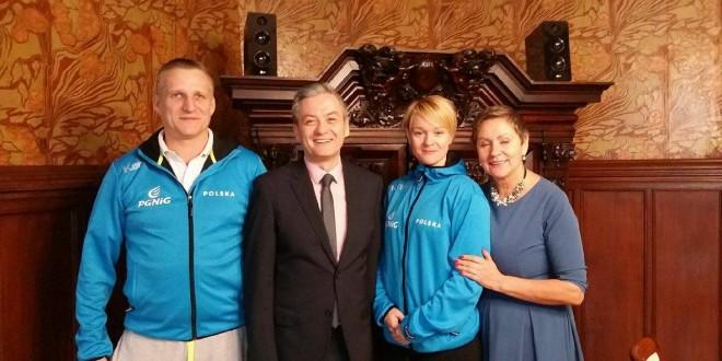 Z wizytą u prezydenta Słupska