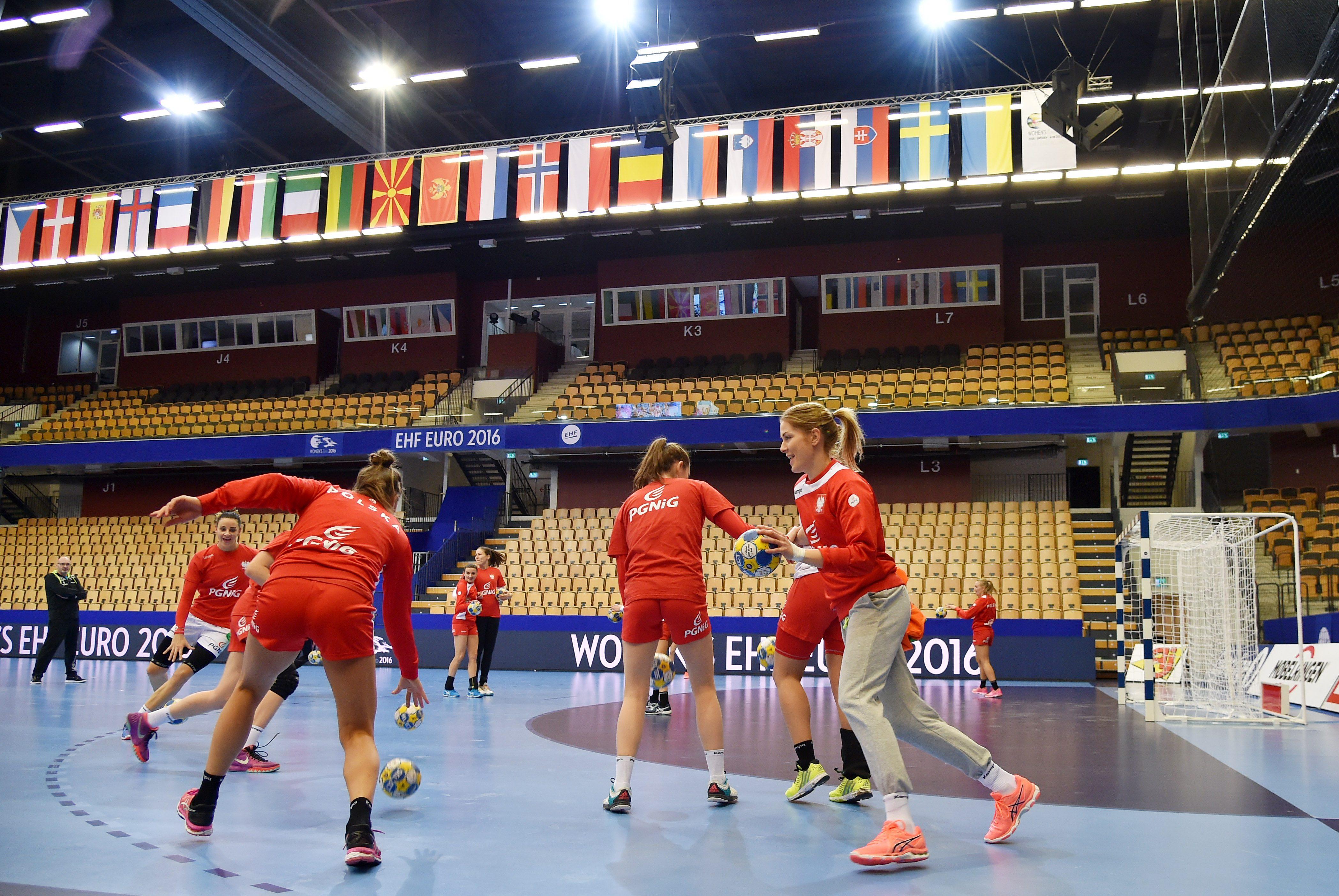 Trening reprezentacji Polski przed spotkaniem z Francja