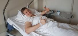 Operacja Piotra Wyszomirskiego odbyła się bez komplikacji