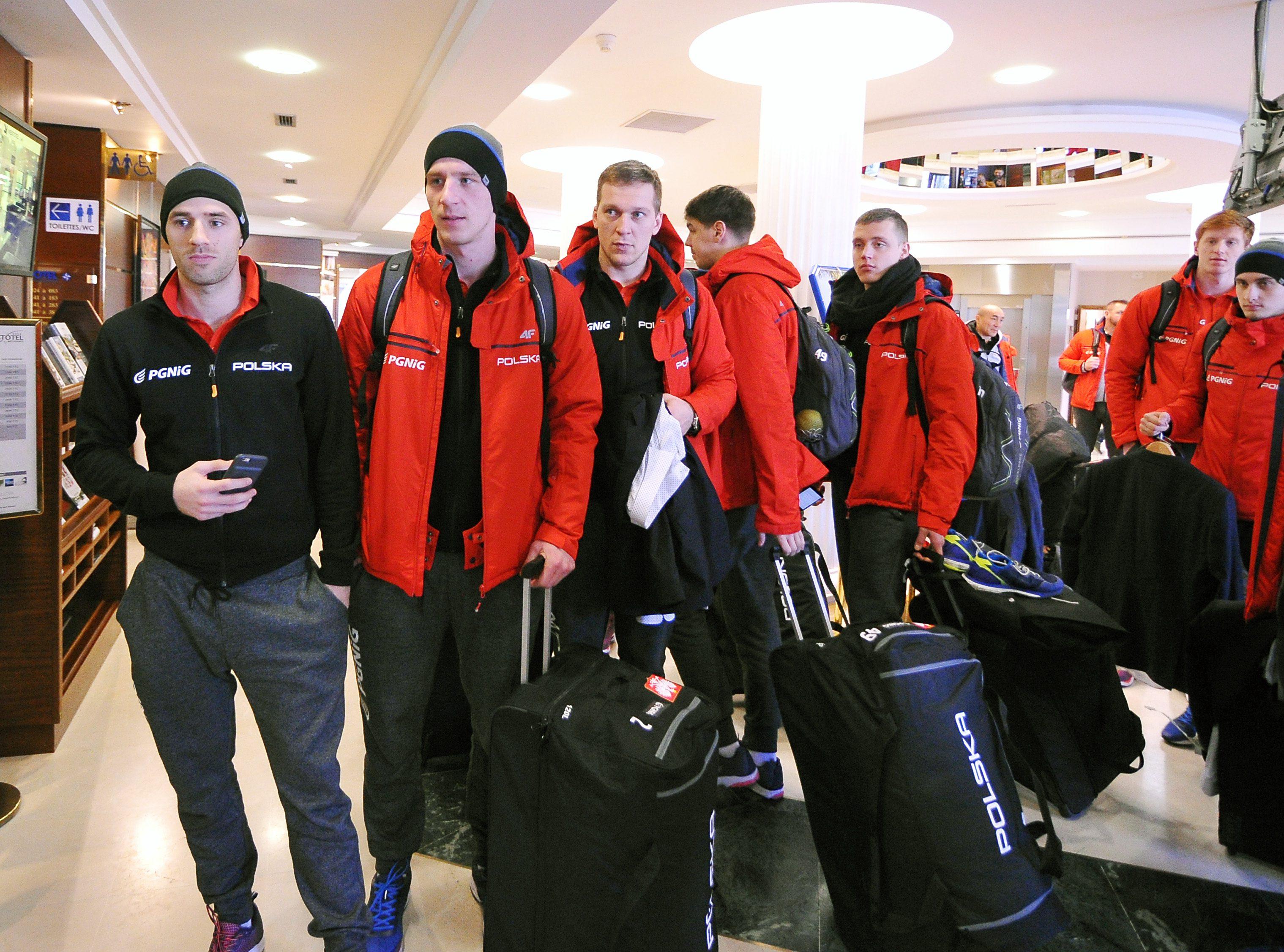 Przyjazd polskich pilkarzy recznych do Nantes