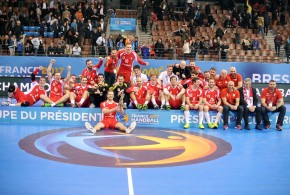 POLSKA – ARGENTYNA / Puchar Prezydenta IHF – Finał / BREST / 23.01.2017