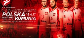 Polska-Rumunia w ERGO ARENIE! Bilety na mecz już w sprzedaży!