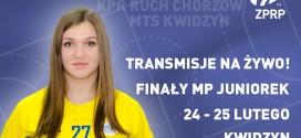 Transmisje na żywo z finałów MP juniorek