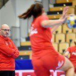 Trening reprezentacji Polski przed spotkaniem z Niemcami