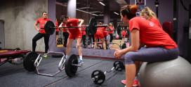 Zajęcia Biało-czerwonych na siłowni (galeria)