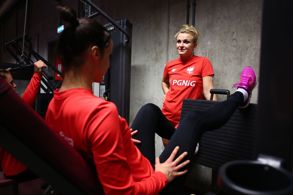 Trening reprezentacji Kobiet w Pilce Recznej