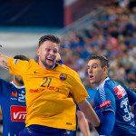 2016.09.25 Plock Pilka reczna Handball Liga Mistrzow Wisla Plock - FC Barcelona N/z Kamil Syprzak Foto Konrad Skiba / PressFocus
