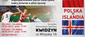 Juniorki zagrają towarzysko z Islandią w Kwidzynie
