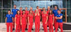 Srebrna drużyna z wizytą w Centrum Olimpijskim