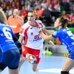 2017.09.27 Lubin Pilka Reczna Kwalifikacje do Mistrzostw Europy EHF 2018 Polska - Wlochy N/z Kinga Achruk Foto Pawel Andrachiewicz / PressFocus  2017.09.27 Lubin Handball 2018 Women's European Championship Qualification Poland - Italy Kinga Achruk Credit: Pawel Andrachiewicz / PressFocus