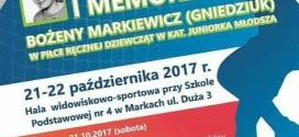 Zapraszamy na Memoriał Bożeny Markiewicz (Gniedziuk)