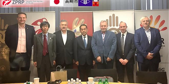 ZPRP odwiedziła delegacja miasta Takasaki