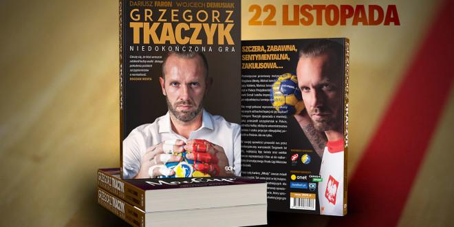 """""""Niedokończona gra"""" Grzegorza Tkaczyka. Rusza przedsprzedaż autobiografii"""