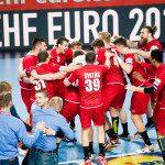 during the EHF EURO Croatia 2018 - Preliminary round -  Group D - Czech Republic vs Denmark in Arena Varazdin, Varazdin, Croatia, 15.1.2018, Mandatory Credit © HRS / Sasa Pahic Szabo
