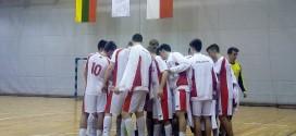 Juniorzy zwyciężyli Litwinów