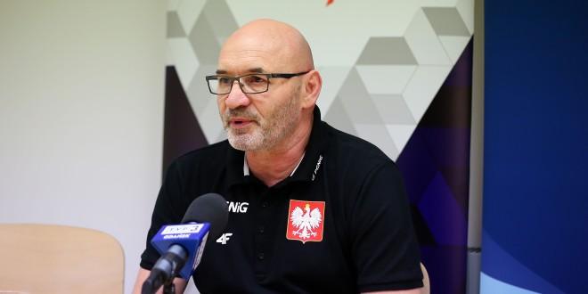 Leszek Krowicki: Cieszymy się, że gramy w domu (video)