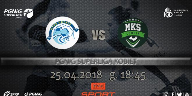 GTPR Gdynia – MKS Perła Lublin w TVP Sport