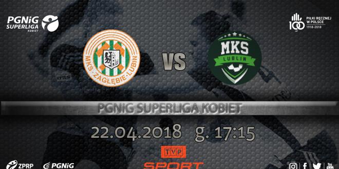 Metraco Zagłębie Lubin – MKS Perła Lublin w TVP Sport