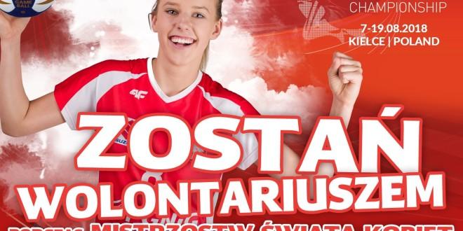 Zostań wolontariuszem podczas Mistrzostw Świata Kobiet w Kielcach!