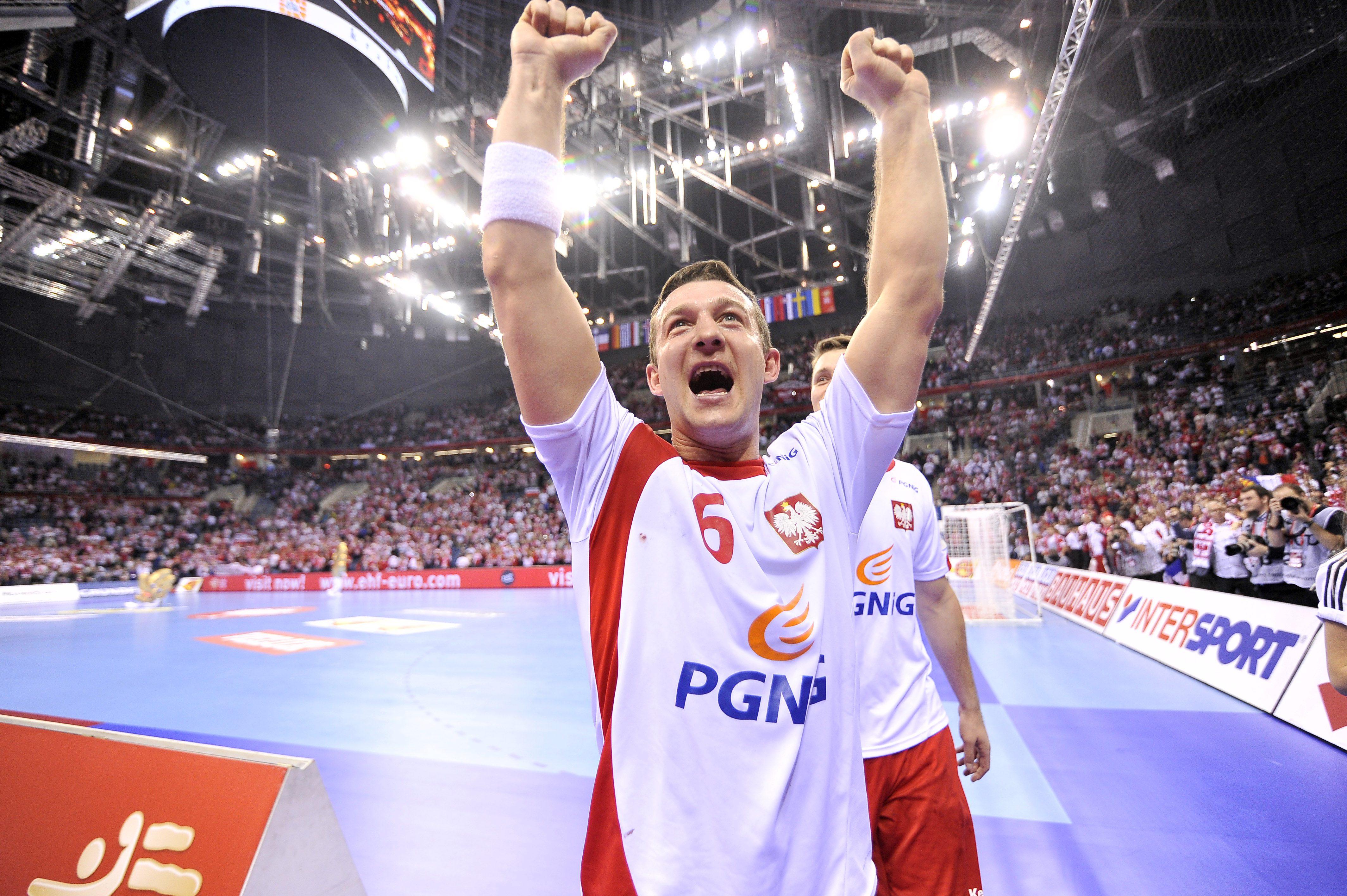 8e979528e 2016.01.19 Krakow Cracow Pilka reczna EHF Euro 2016 Mistrzostwa Europy w pilce  recznej mezczyzn