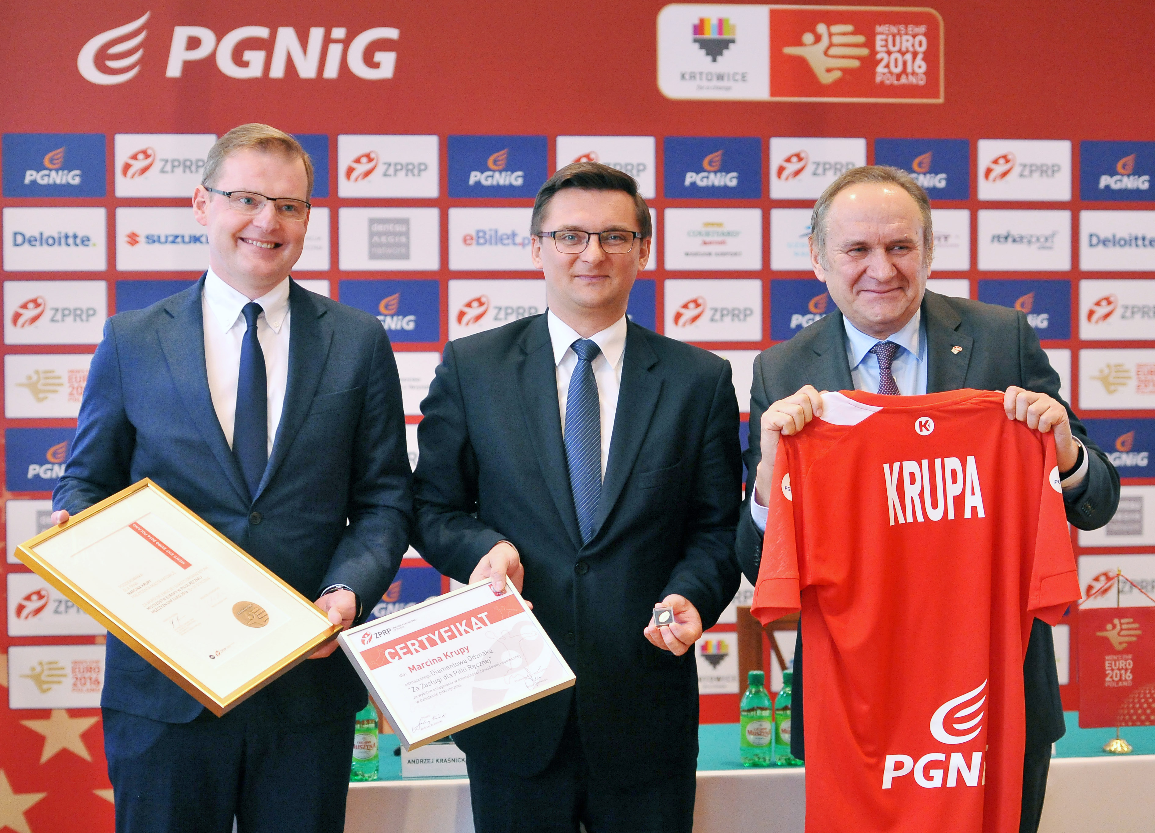 W Katowicach podsumowano EHF EURO 2016