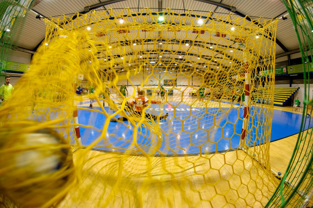 2016.03.09 Wroclaw Pilka reczna Puchar Polski 1/8 sezon 2015/2016 WKS Slask Wroclaw - MKS Zaglebie Lubin N/Z bramka gol radosc Foto Pawel Andrachiewicz / Pressfocus 2016.03.09 Wroclaw Handball Men Polish Cup 1/8 season 2015/2016 WKS Slask Wroclaw - MKS Zaglebie Lubin bramka gol radosc Photo Pawel Andrachiewicz / Pressfocus