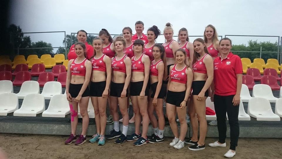 Młódzieżowa reprezentacja Polski BH_dziewcząt 1