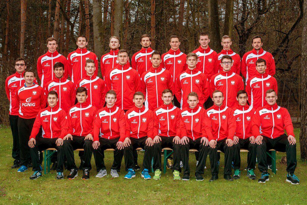 Polish M20 national team photo for EC in Denmark 2016