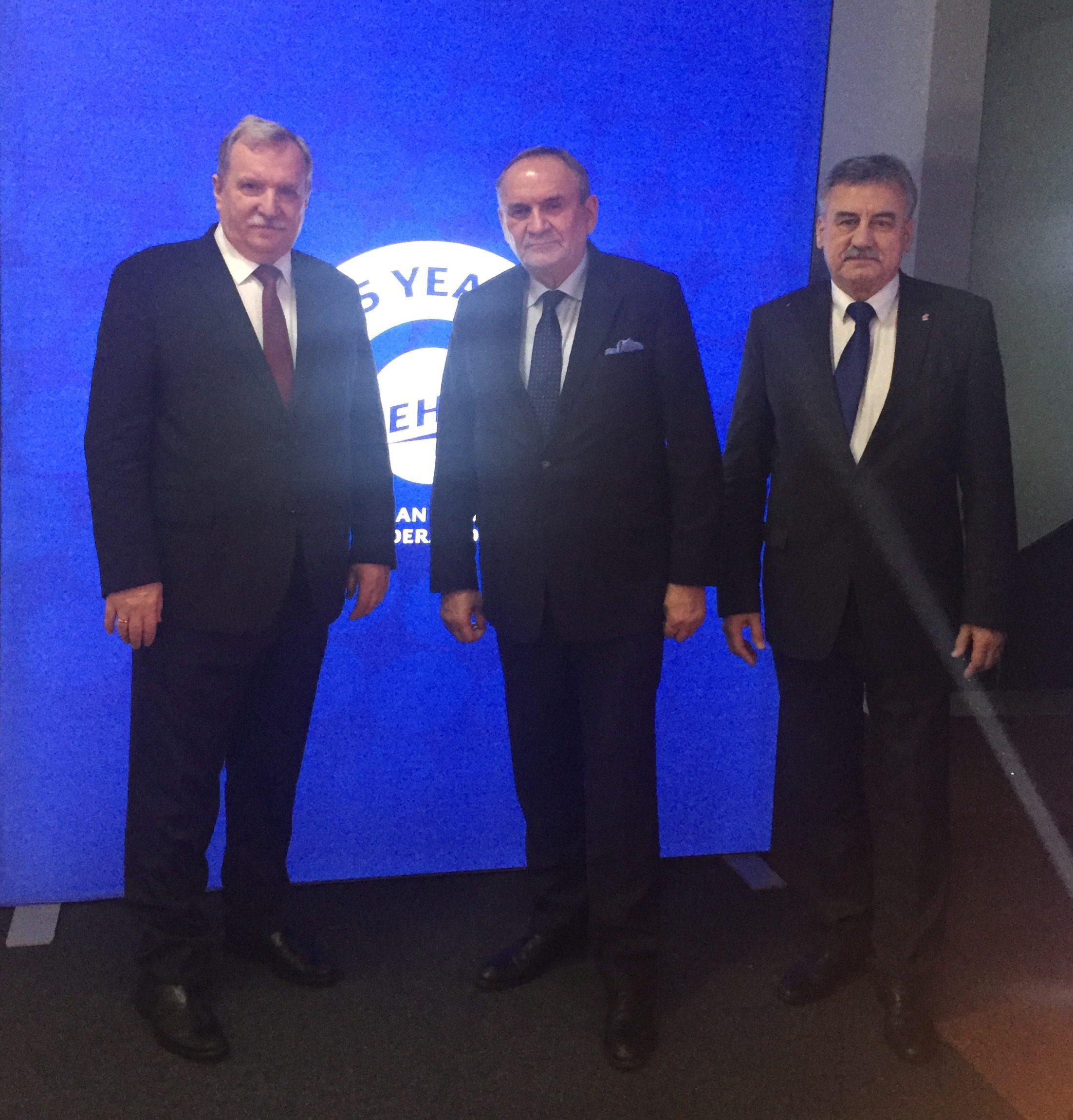 / Henryk Szczepański, Andrzej Kraśnicki i Bogdan Sojkin