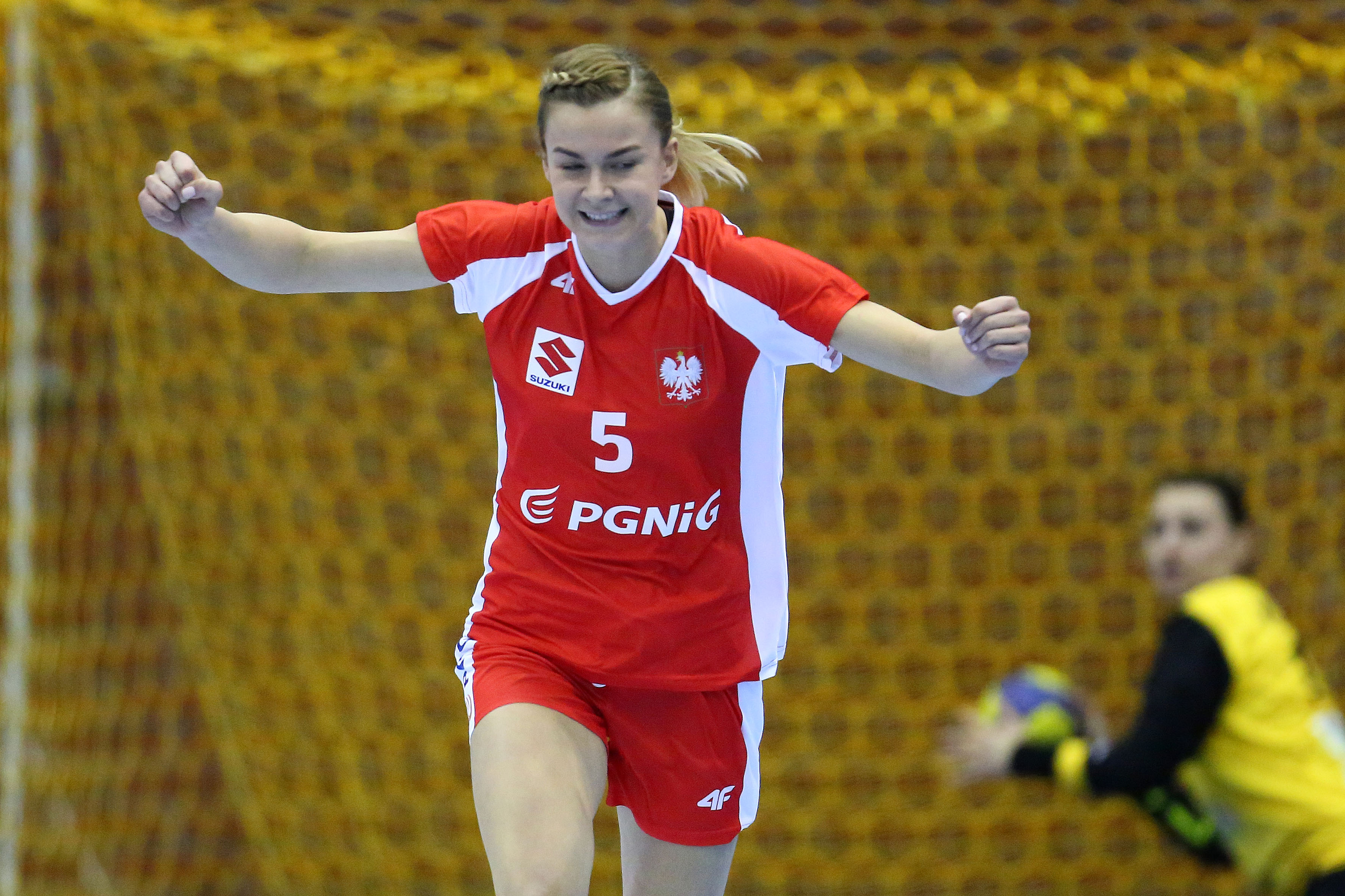 2017.03.17 Gdansk Pilka Reczna Kobiet Turniej Miedzynarodowy  Mecz Polska - Bialorus N/z Monika Michalow Foto Piotr Matusewicz / PressFocus 2017.03.17 Gdansk Women handball International Tournament Poland - Belarus Monika Michalow Credit: Piotr Matusewicz / PressFocus