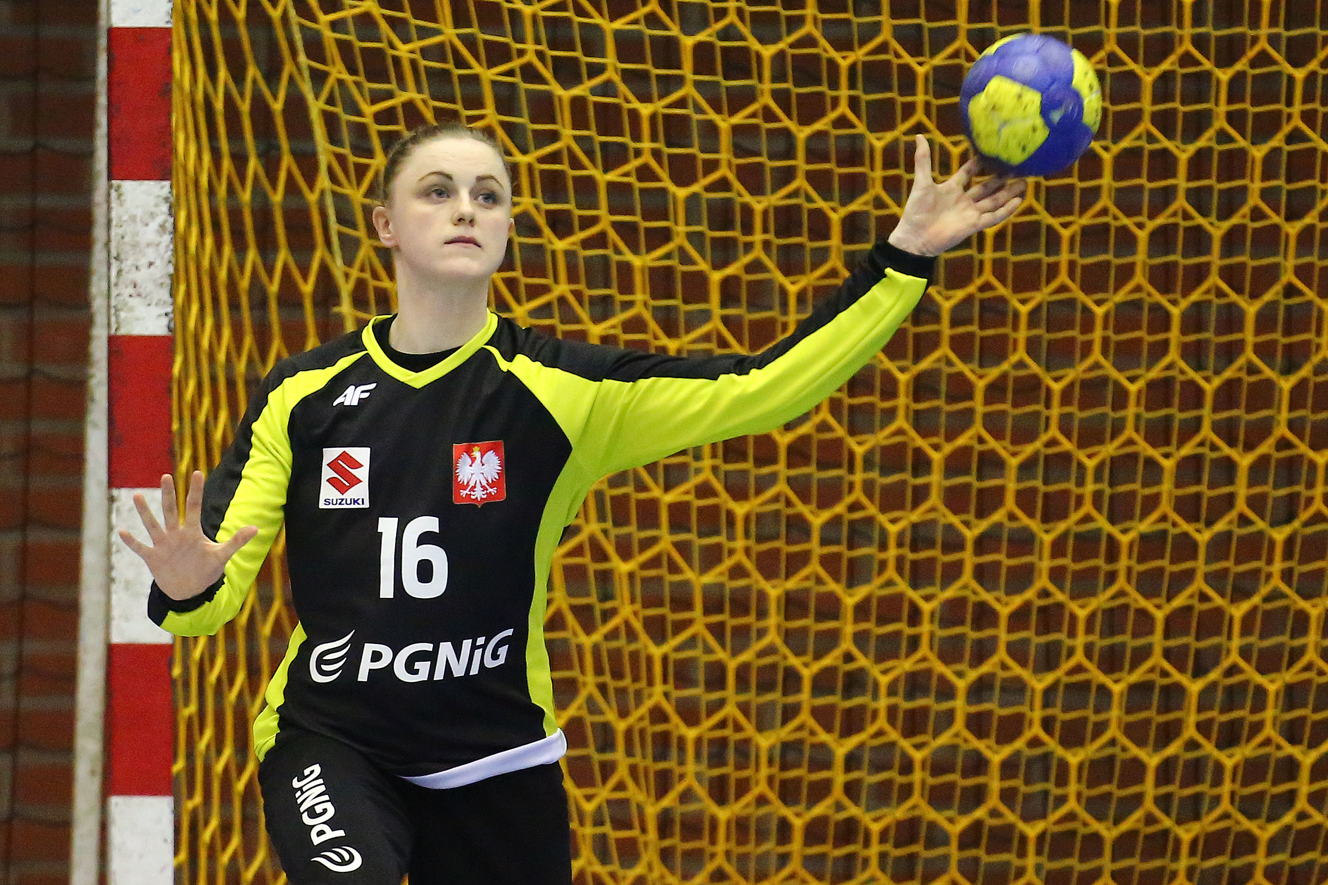2017.03.18 Gdansk Pilka Reczna Kobiet Turniej Miedzynarodowy Mecz Polska - Ukraina N/z Adrianna Placzek Foto Piotr Matusewicz / PressFocus 2017.03.18 Gdansk Women handball International Tournament Poland - Ukraine Adrianna Placzek Credit: Piotr Matusewicz / PressFocus