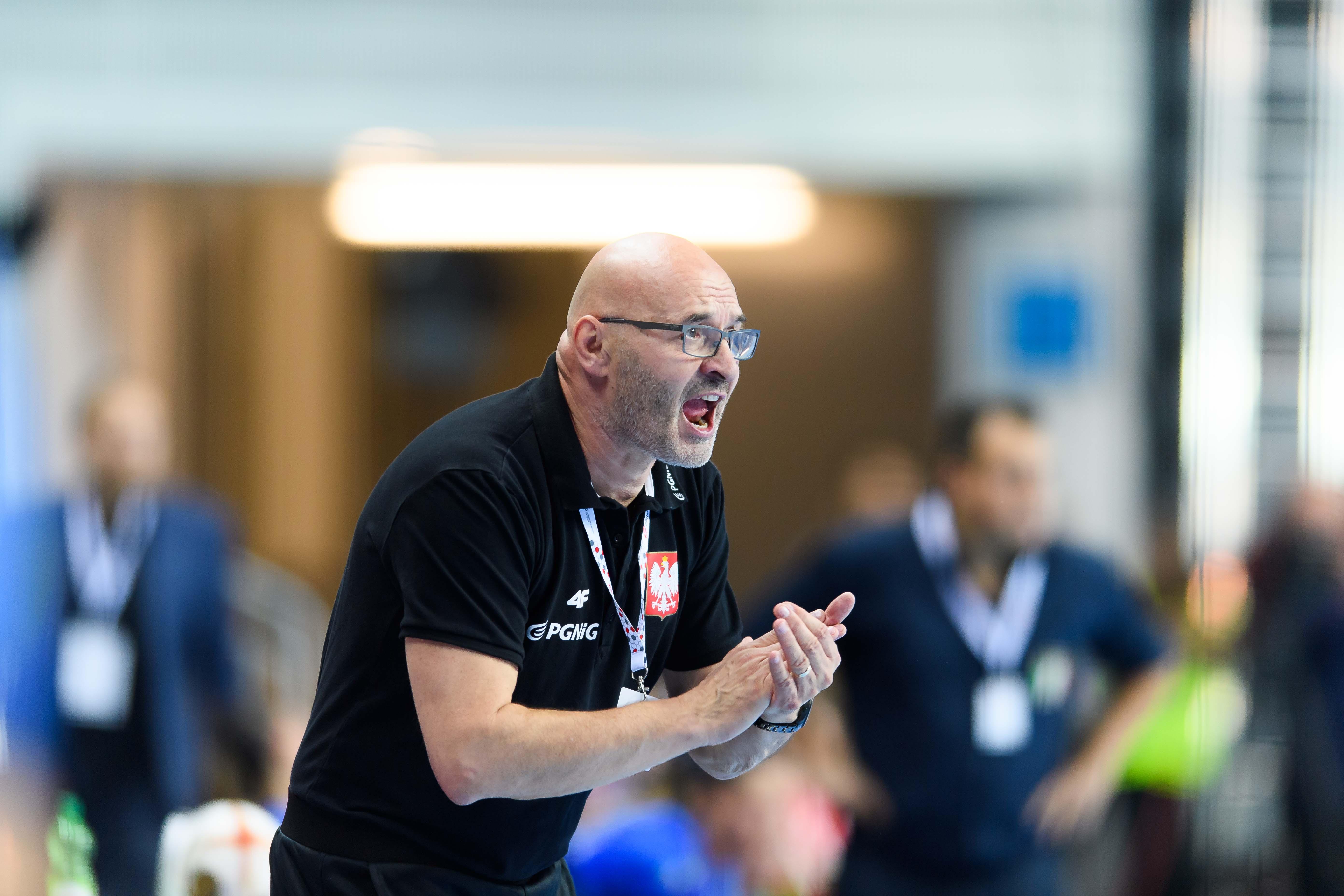 2017.09.27 Lubin Pilka Reczna Kwalifikacje do Mistrzostw Europy EHF 2018 Polska - Wlochy N/z Leszek Krowicki Foto Pawel Andrachiewicz / PressFocus 2017.09.27 Lubin Handball 2018 Women's European Championship Qualification Poland - Italy Leszek Krowicki Credit: Pawel Andrachiewicz / PressFocus