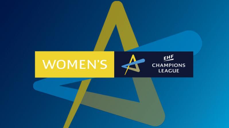 Logo EHF CL kobiet poziom