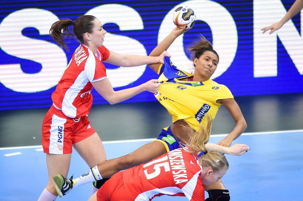 Handball - IHF Women's Handball World Championship - Sweden v Poland - Bietigheim-Bissingen , Germany, 2 December 2017