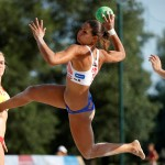 Beach Handball EURO 2017 tournament, in Zagreb - Croatia, 22. june 2017. photo credit: Uros Hocevar