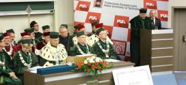 Władze Politechniki Świętokrzyskiej uhonorowane