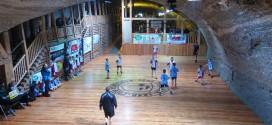 Wyjątkowy turniej piłki ręcznej w Kopalni Soli Bochnia