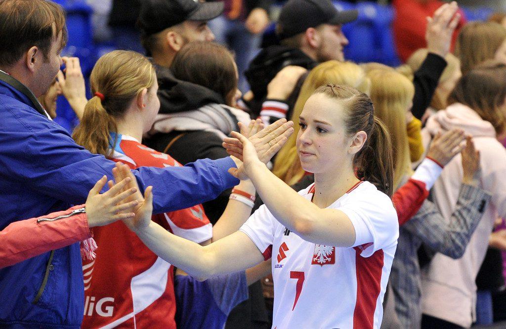 2019.03.23 Gdansk Pilka reczna Baltic Handball Cup 2019 Polska - Slowacja N/z Aneta Labuda of Poland Foto Norbert Barczyk / PressFocus