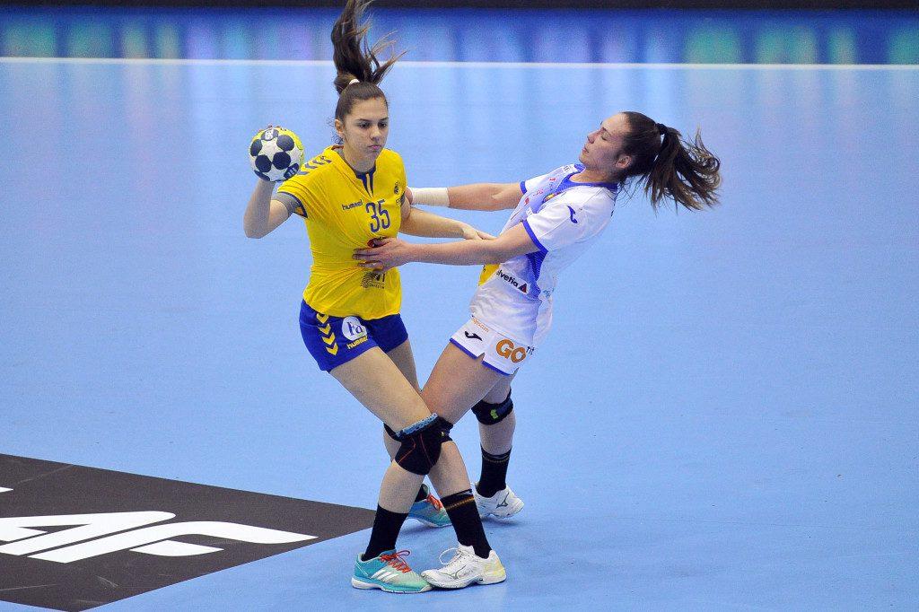 2019.03.22 Gdansk Pilka reczna Baltic Handball Cup 2019 Rumunia - Hiszpania N/z Andreea Tecar Foto Norbert Barczyk / PressFocus