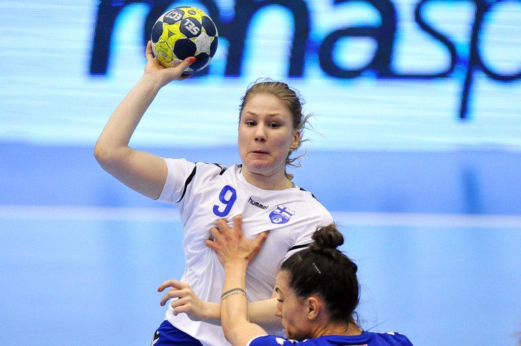 2019.03.23 Gdansk Pilka reczna Baltic Handball Cup 2019 Finlandia - Rumunia B N/z Ellen Norrgrann Foto Norbert Barczyk / PressFocus