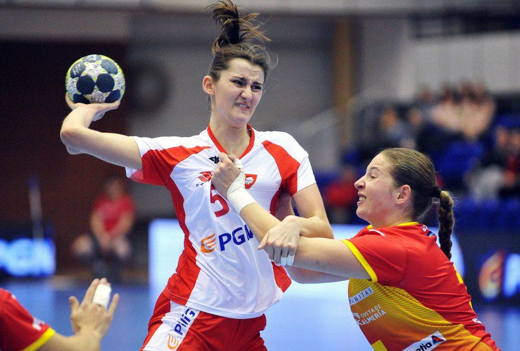 2019.03.23 Gdansk Pilka reczna Baltic Handball Cup 2019 Polska B - Hiszpania B N/z Justyna Swierczek Foto Norbert Barczyk / PressFocus
