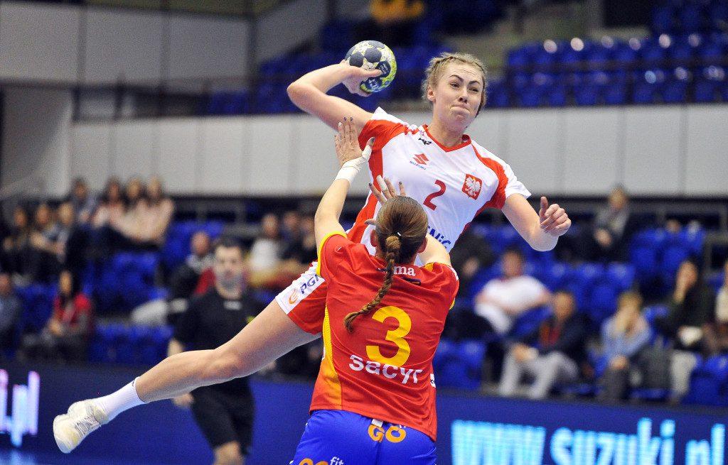 2019.03.23 Gdansk Pilka reczna Baltic Handball Cup 2019 Polska B - Hiszpania B N/z Aleksandra Zimny Foto Norbert Barczyk / PressFocus