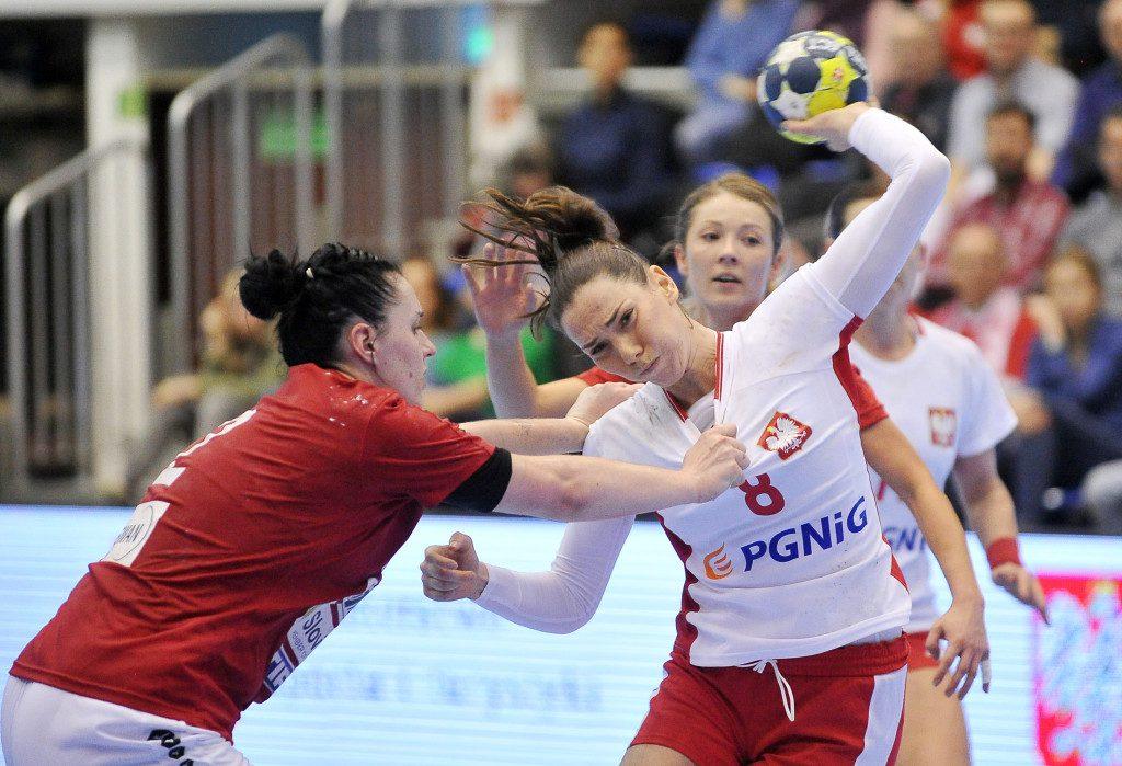 2019.03.23 Gdansk Pilka reczna Baltic Handball Cup 2019 Polska - Slowacja N/z Monika Kobylinska of Poland Foto Norbert Barczyk / PressFocus