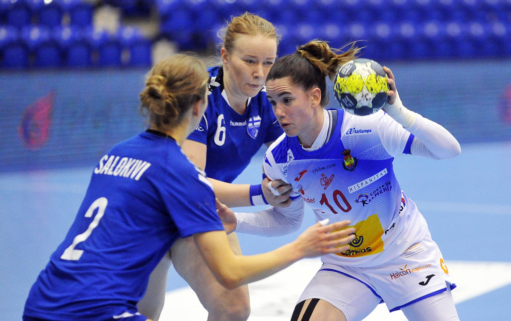 2019.03.24 Gdansk Pilka reczna Baltic Handball Cup 2019 Hiszpania B - Finlandia N/z Emma Boada Foto Norbert Barczyk / PressFocus