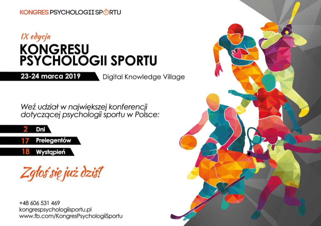 Plakat - Kongres Psychologii Sportu