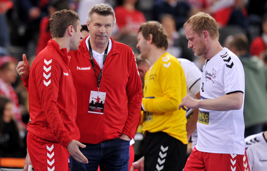 2019.04.10 Gliwice Pilka reczna Mecz Handball Legends N/z Bogdan Wenta Foto Rafal Rusek / PressFocus